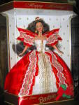 Click here to enlarge image and see more about item hsb13aa: Special Edition 1997 Happy Holiday Barbie