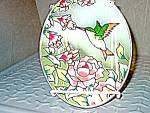 Click here to enlarge image and see more about item hubirds1i: Hummingbird Suncatcher