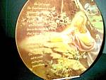 Click here to enlarge image and see more about item inspp4l: Inspirational Plate The Lord's Prayer