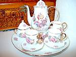 Click here to enlarge image and see more about item insteatt2k: Inspirational Angel and Roses Tea Set