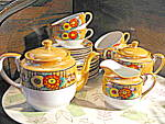 Click here to enlarge image and see more about item jlwa1l: Oriental  Japan Bone China Tea/Snack Set