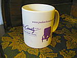 Click here to enlarge image and see more about item kccw12d: Lancaster County Coffee Mug