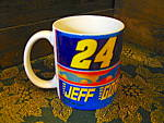 Click here to enlarge image and see more about item kccw13d: Hendrick Nascar Jeff Gorden Coffee Mug