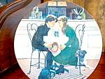 Click here to enlarge image and see more about item kno1k: Valentine's Day Knowles Collector Plate