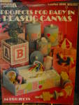 Click here to enlarge image and see more about item LA206l: Leisure Arts Projects For Baby in Plastic Canvas #206