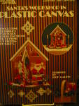Click here to enlarge image and see more about item LA361g: Leisure Arts Santa's Workshop in Plastic Canvas #361