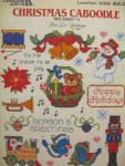 Click here to enlarge image and see more about item LA432h: Leisure Arts Christmas Caboodle #4 Mini Series #432