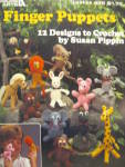 Click here to enlarge image and see more about item LA435k: Leisure Arts Finger Puppets #435