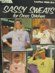 Click here to enlarge image and see more about item LA530h: Leisure Arts Sassy Sweats for Cross Stitchers  #530