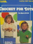Click here to enlarge image and see more about item LA537f: Leisure Arts Crochet For Tots #537