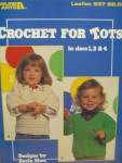 Click here to enlarge image and see more about item LA537m: Leisure Arts Crochet For Tots #537