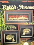 Click here to enlarge image and see more about item LA586k: Leisure Arts  Rabbit Avenue  #586