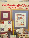 Click here to enlarge image and see more about item LA587m: Leisure Arts  For Needles and Pins  #587