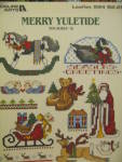 Click here to enlarge image and see more about item LA594e: Leisure Arts Merry Yuletide #18 Mini Series  #594