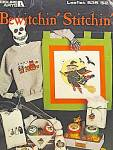 Click here to enlarge image and see more about item LA635h: Leisure Arts Bewitchin' Stitchin'  #635