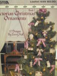 Click here to enlarge image and see more about item LA639k: Leisure Arts Victorian Christmas Ornaments #639