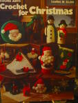 Click here to enlarge image and see more about item LA81l: Leisure Arts Crochet for Christmas #81