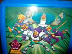 Click here to enlarge image and see more about item lbdis2v: Vintage Disney Mighty Ducks Plastic Lunchbox