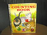 Click here to enlarge image and see more about item lgb11m: Little Golden Book First Counting Book