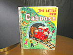Click here to enlarge image and see more about item lgb17l: Little Golden Book The Little Red Caboose