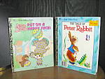 Click here to enlarge image and see more about item lgb52l: Put On A Happy Face & The Tale Of Peter Rabbit