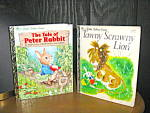 Click here to enlarge image and see more about item lgb55l: Tawny Scrawny Lion & The Tale of Peter Rabbit