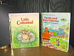 Click here to enlarge image and see more about item lgb56l: Little Cottontail & Tootle and Katy Caboose