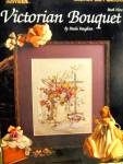 Click here to enlarge image and see more about item LS521k: Leisure Arts Victorian Bouquet #521