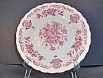 Click here to enlarge image and see more about item mb2o: Myott Bouquet Bread Plate