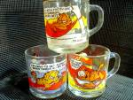 Click here to enlarge image and see more about item mgarfieldc2r: McDonald'sGarfield Collector Three Mug Set
