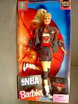 Click here to enlarge image and see more about item nbabw7l: NBA Barbie Atlanta Hawks