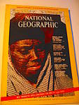 Click here to enlarge image and see more about item ngm15b: Vintage National Geographic Magazine October 1971