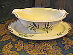Click here to enlarge image and see more about item noror1d: Noritake Orient Gravy Boat & Underplate