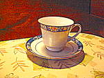 Click here to enlarge image and see more about item npres1l: Legendary by Noritake Prescott Cup and Saucer Set