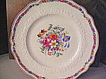 Click here to enlarge image and see more about item osjbm1f: Old Staffordshire Marlow 9In. Dinner Plate