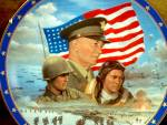 Click here to enlarge image and see more about item pbradex4v: Limited Edition Plate D-Day by Jim Griffin