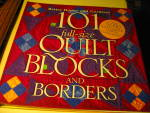 Click here to enlarge image and see more about item quilt1d: 101 Full-Size Quilt Blocks and Borders