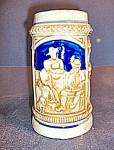 Click here to enlarge image and see more about item st10l: Vintage German Like Stein Made in Japan NO388