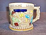Click here to enlarge image and see more about item st8l: Vintage Apex Japan German Like Mustache Stein