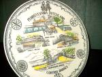Click here to enlarge image and see more about item staspl2m: State/Souvenir Plate Pennsylvania  Dutchland
