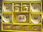Click here to enlarge image and see more about item tdts2b: Vintage Child's China Tea Set-Bears