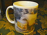 Click here to enlarge image and see more about item tomk2d: Thomas Kinkade Silent Night Coffee Mug