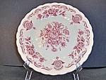 Click here to enlarge image and see more about item vdwmb2: Myott Bouquet Bread Plate