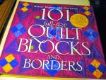 Click here to enlarge image and see more about item vquilt1c: 101 Full-Size Quilt Blocks and Borders