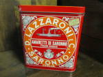 Click here to enlarge image and see more about item vtinad1f: Amaretti di Saronno Italian Cookie Tin