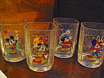 Click here to enlarge image and see more about item wdcup2a: McDonald's Disney World Disney Studio Drinking Glasses