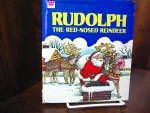 Click here to enlarge image and see more about item wlbtat1a: Whitman-Rudolph the Red-Nosed Reindeer