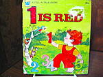 Click here to enlarge image and see more about item wlbtat2g: Whitman Tell-A- Tale Book-1 is Red