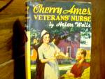 Click here to enlarge image and see more about item xca5i: Vintage Cherry Ames Book #6 Veterans' Nurse