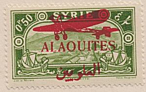Alaouites Air Post Sc#C17 (1929)  unused (Image1)
